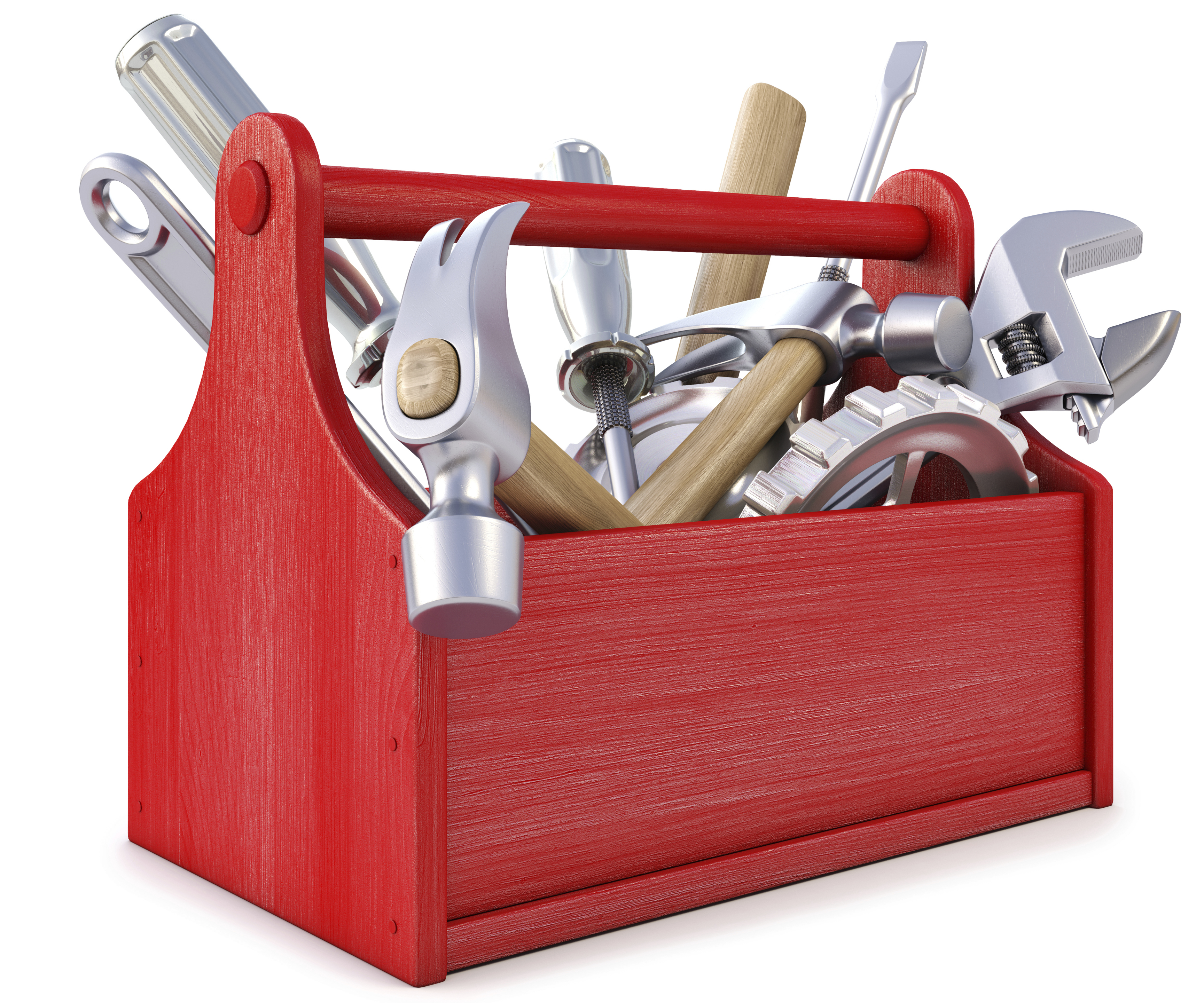 tools marketing trade tech technology inbound tool toolbox box kit advertising basic boxes handyman company