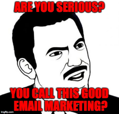 Better Email Marketing: Personal Pet Peeves