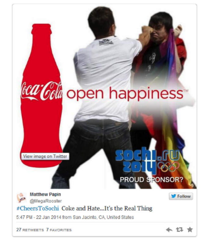 coke and mcdonalds social media